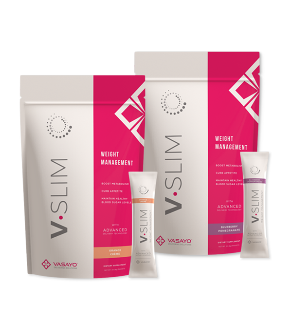 VSlim 30-Day Supply MANAGE YOUR WEIGHT IN A HEALTHY WAY! *  Many weight management products on the market today take a narrow focus to weight control. Not V-Slim: Weight Management!  All this while providing a delicious and hydrating taste experience!