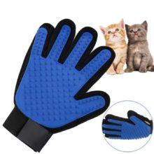 Dog Pet brush Deshedding Gentle Grooming Supply Glove