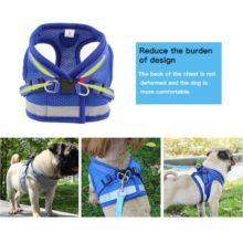 Adjustable Reflective Dog Harness