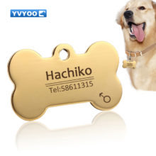 Personalized Dog's ID Safety Tag